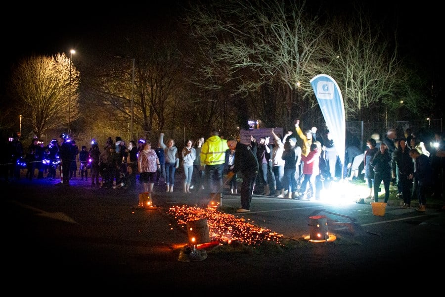 Firewalk Event